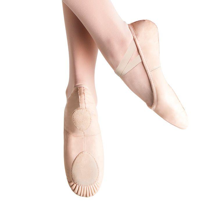 Bloch Prolite Ii Leather Split Sole Ballet Shoes Ladies