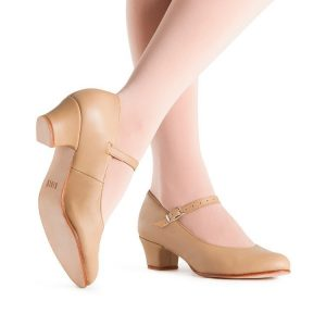 s0304g-bloch-curtain-call-girls-stage-shoe-tan-1