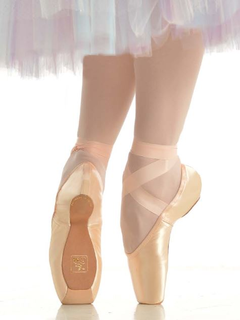 Gaynor Minden Pointe Shoe Sculpted Fit Dance Desire