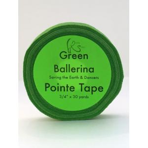green-ballerina-pointe-toe-tape