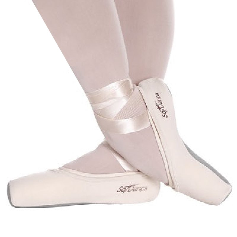 pointe shoe covers light pink dance desire dance store