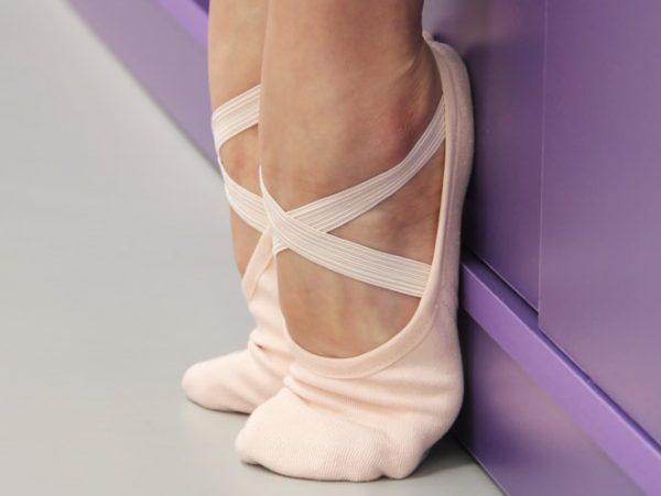 Stretch Canvas Split Sole Ballet Shoes