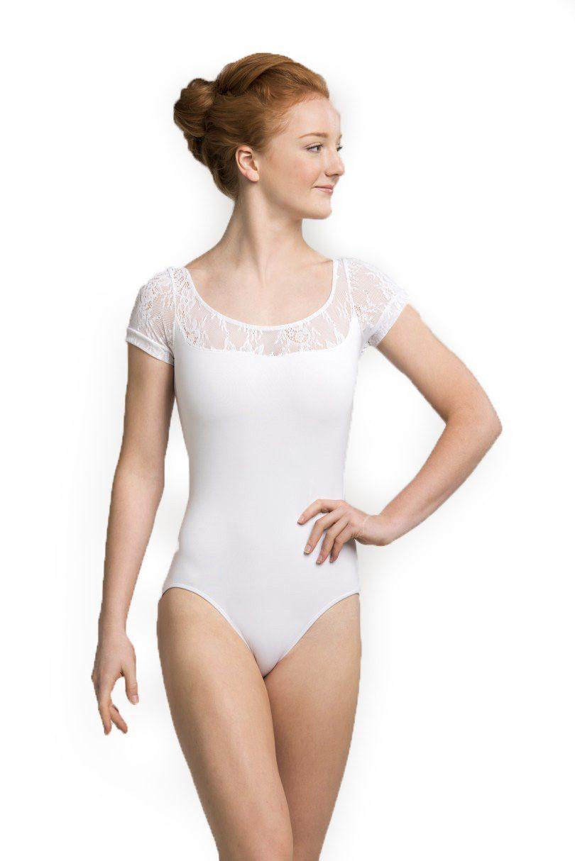 e1840d99b AinslieWear Ladies Leotard - Cap Sleeve with Kara Lace - Dance ...