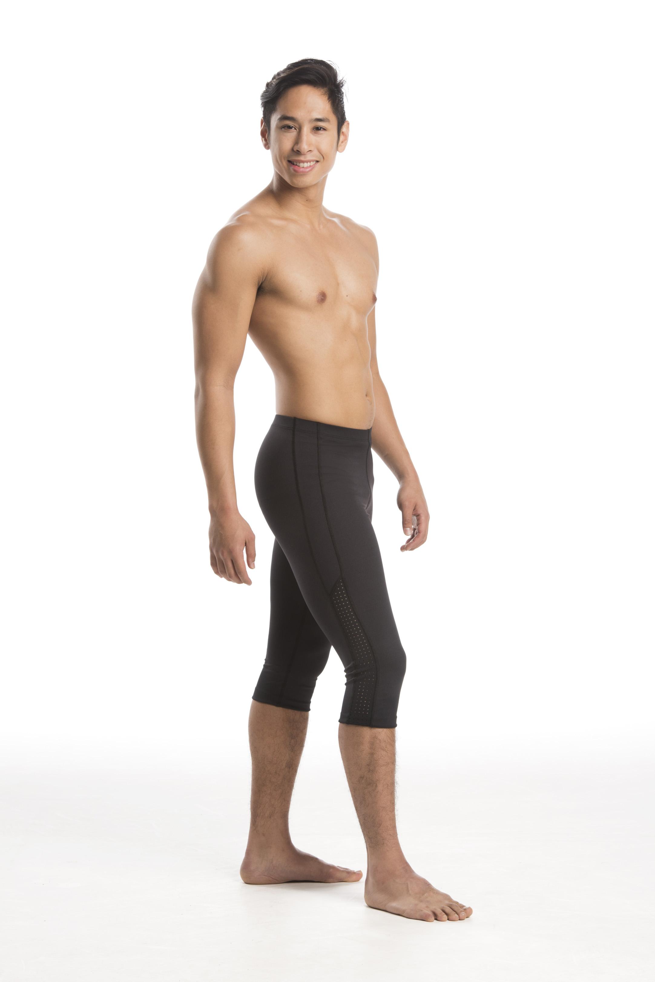 cd1141171d907 AinslieWear Men's Leggings - Below Knee - Dance Desire Dance Store