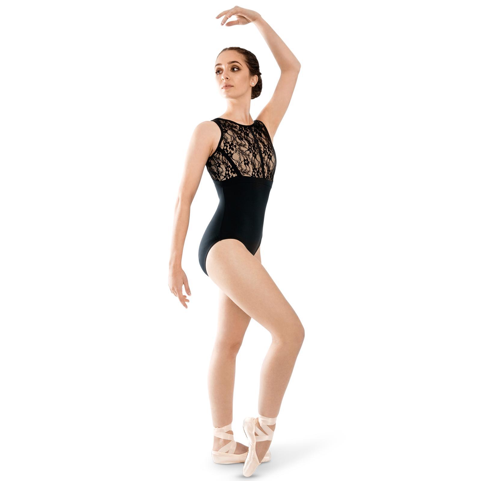 ffd2aa83a206c Strut Stuff Demi Leotard – Black - Dance Desire Dance Store