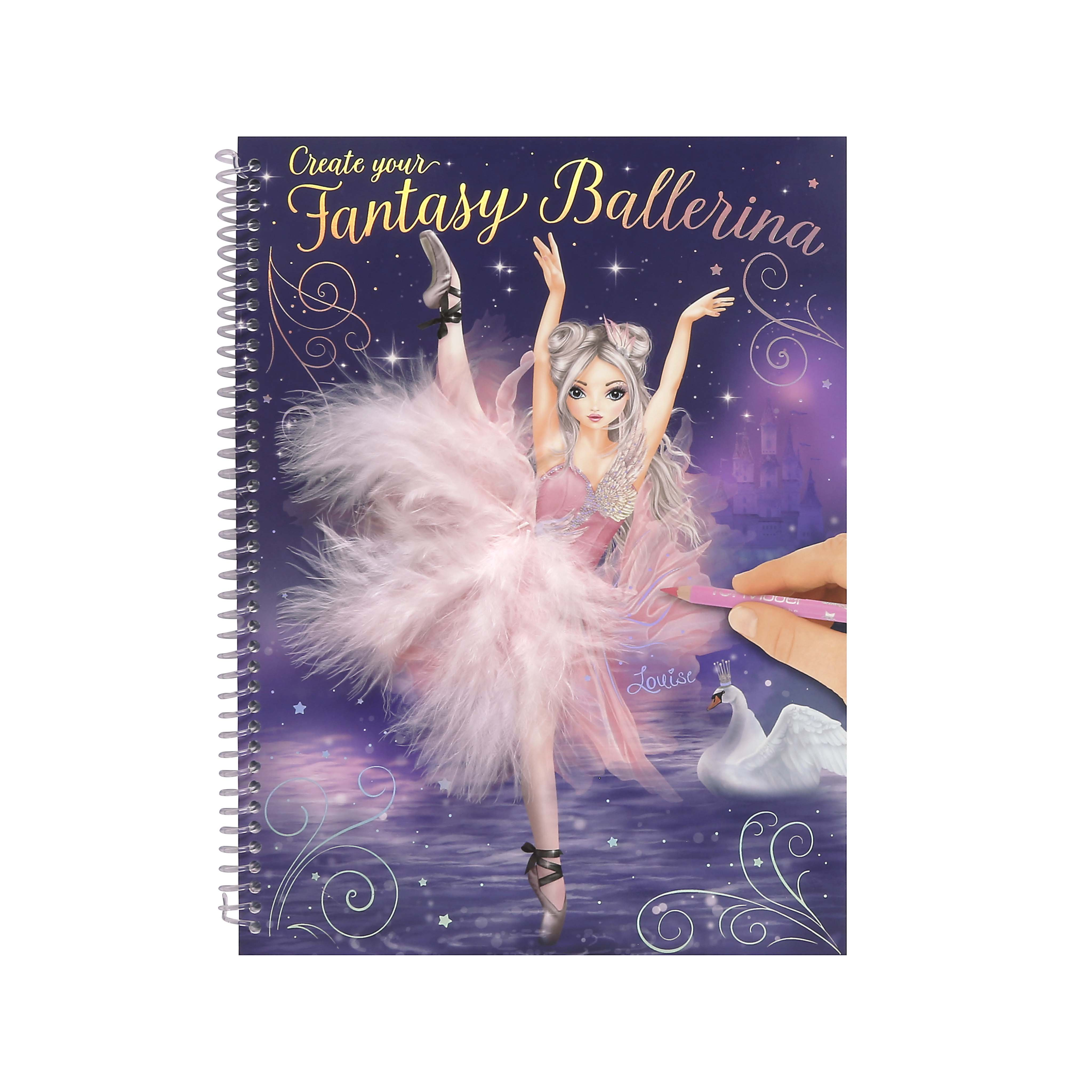080b09bcd28f Create Your Fantasy Ballerina Book